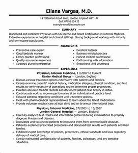 doctor resume template 16 free word excel pdf format With cv format for doctors free download