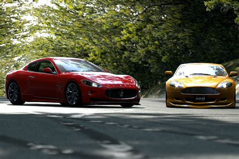 Maserati Gran Turismo With Aston Martin Db9 (1) By Iby786x