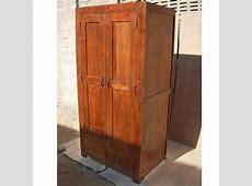 Solid Wood Rustic Closet Wardrobe Armoire Storage eBay