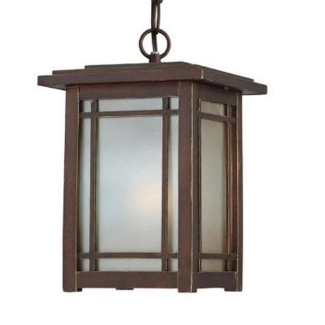 home depot outdoor hanging lights home decorators collection port oxford 1 light oil rubbed