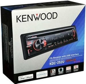 kenwood kdc car audio in dash units ebay