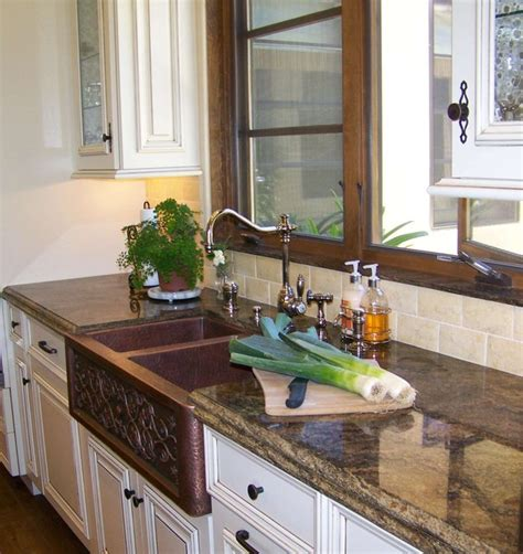 pictures of backsplashes in kitchen copper farmhouse sink up 7441