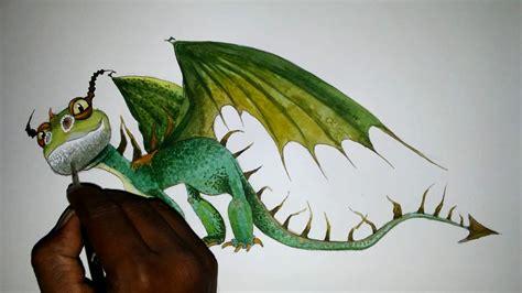 draw dragon terrible terror    train