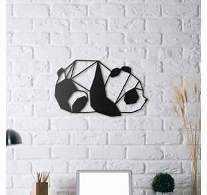 Deco Murale Industrielle : d coration murale m tal panda artwall and co ~ Teatrodelosmanantiales.com Idées de Décoration