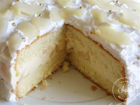 cuisine au mascarpone gâteau poires et mousse vanille la tendresse en cuisine