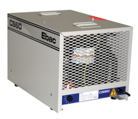 ebac eip cs60 portable commercial dehumidifier