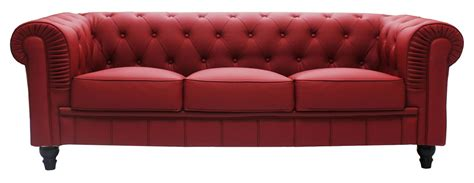 Sofa Seat Singapore by Benjamin Classical 3 Seater Pu Leather Sofa Maroon