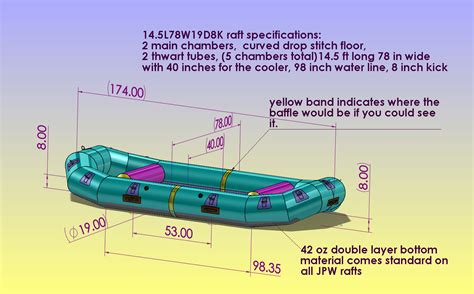 Parts Of Rafting Boat by Jpw Self Bailing Whitewater Raft Custom Design Table 2016