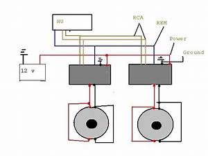 2 Amps 2 Subs Wiring Diagram