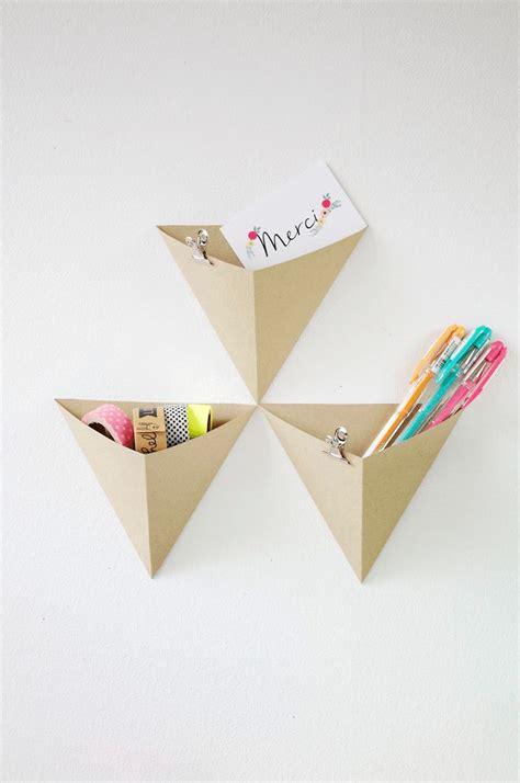 diy rangement bureau best 25 pliage origami ideas on pliage