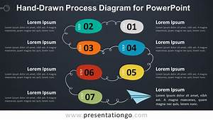 Hand-drawn Process Diagram For Powerpoint