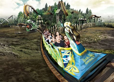 Actionpacked Year Awaits At Busch Gardens Williamsburg