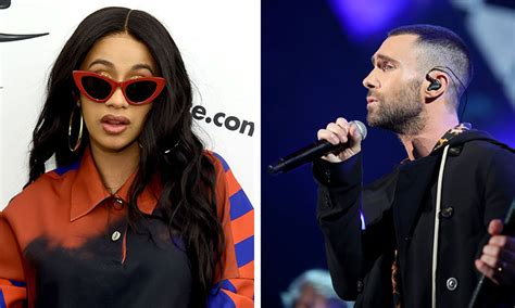 "Cardi B Links Up With Maroon 5 On ""girls Like You"""