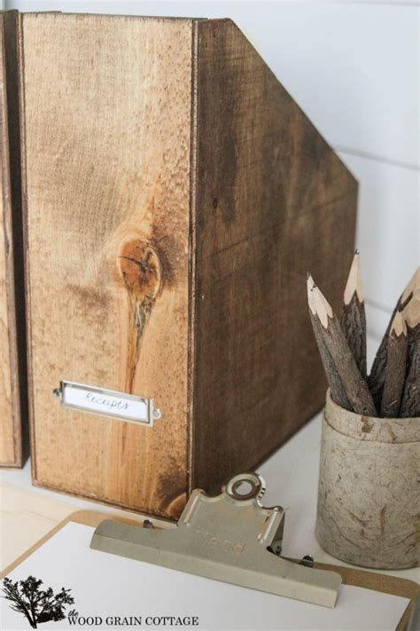 diy wood magazine files infarrantly creative