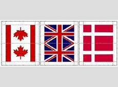 Flags of the World from Dollhouse Miniature Printables