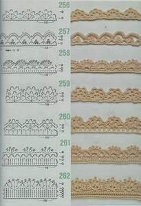 MES FAVORIS TRICOT CROCHET 75 Bordures Au Crochet