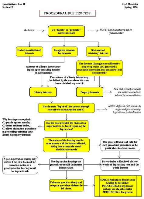 Criminal Law Due Process Flowchart