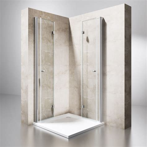 Duschabtrennung Duschkabine Schwingtür Dusche Wand Falttür