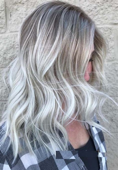 platinum blonde hair colors  medium  long hair  hair color ideas pinterest