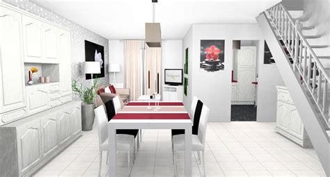 chambre aubergine et blanc deco cuisine noir blanc gris