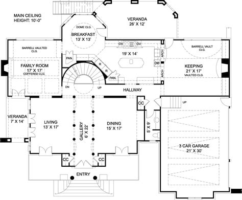 design house plans chiswick house 7939 4 bedrooms and 3 baths the house