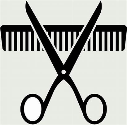 Comb Clipart Scissors Clip Barber Cool Woman