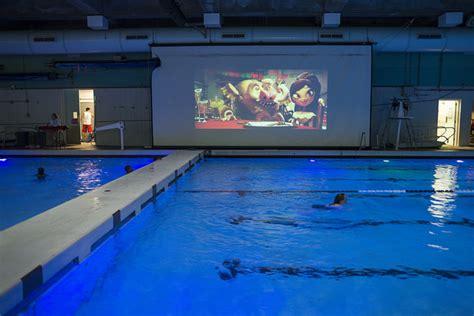 Moonlight Swim At Ballard Pool