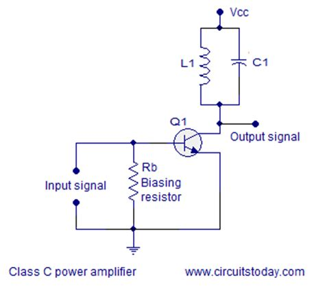 Class Power Amplifier Circuit Diagram Theory Output