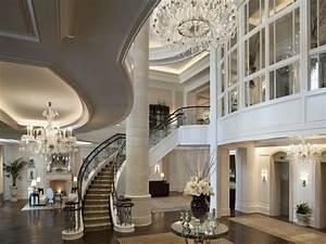 Modern houses interior, luxury mansion kitchens beautiful