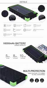 Powerbank 12000mah Solar Charger 3 7v Power Bank Mobile