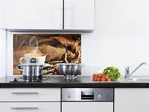 Wandbilder Für Die Küche : spritzschutz glas f r die k che kaffeetasse dampfend jute sack kaffeebohnen ebay ~ Markanthonyermac.com Haus und Dekorationen