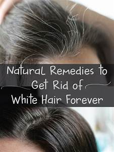 Gray Hair To Natural Color Permanently In 49 Days
