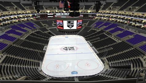 la kings seating chart hockey game