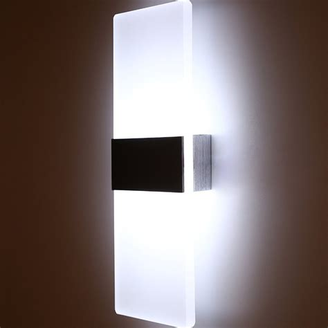 led acrylic wall l wall mounted bedroom lights decorative living room stair corridor sconce
