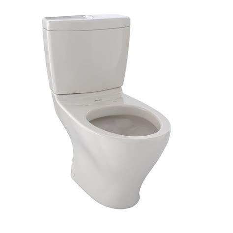 toto aquia ii  piece  gpf dual flush elongated