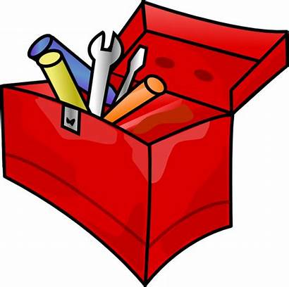 Toolbox Clip Clipart Clker Royalty