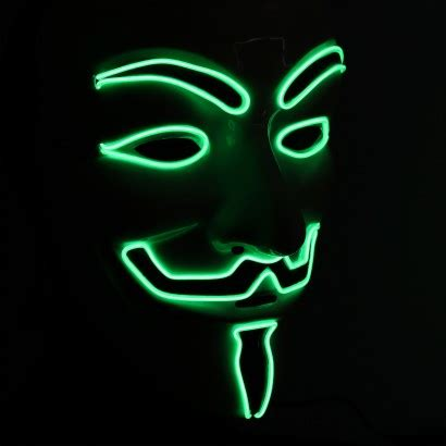 El Wire Guy Fawkes V For Vendetta Mask