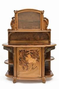 Art Nouveau Mobilier : buffet les vendanges emile gall 1846 1904 nancy ~ Melissatoandfro.com Idées de Décoration