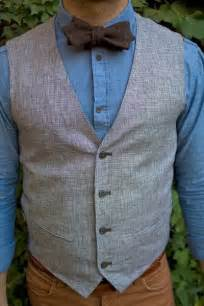 Tweed Bow Tie and Vest