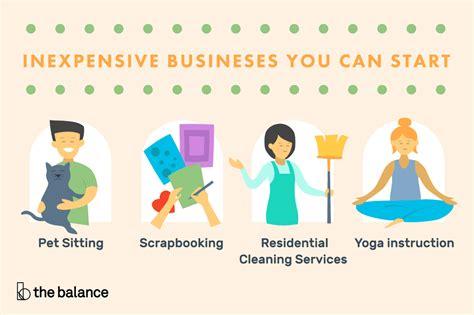 easy businesses  start