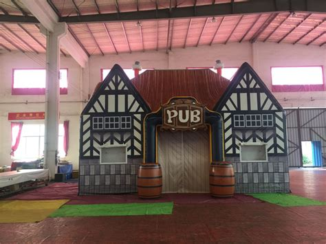 glow  event store inflatable pub