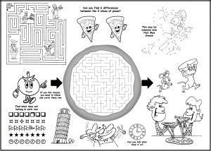 childrens menus kids coloring menus  restaurants