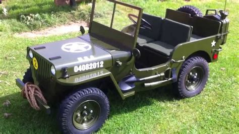 small jeep for kids toylander willys jeep youtube