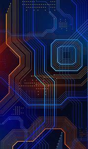 Wallpaper | Technology wallpaper, Phone wallpaper design ...