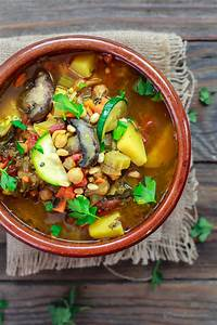 Mediterranean-Style Homemade Vegetable Soup   The ...