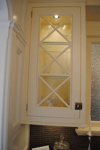 criss cross mullion cabinets home kitchen ideas