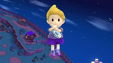 Vaporwave Lucas (super Smash Bros. For Wii U> Skins