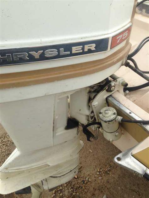 Chrysler Boat Motor by 75 Hp Chrysler Outboard Motor Impremedia Net