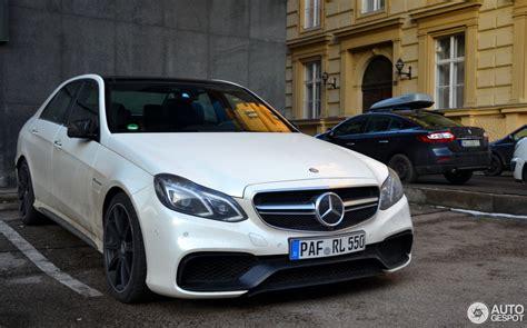 Mercedes Amg E 63 S 2016 Fahrbericht by Mercedes E 63 Amg S W212 8 January 2016 Autogespot