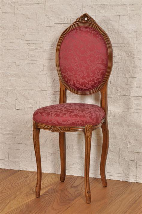 sedia luigi xiv piccola sedia da ingresso o da con schienale ovale